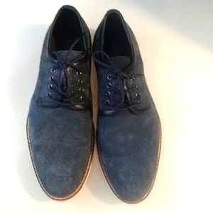 Joe's Jeans Perforated Lace Up Shoe